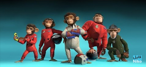 دانلود انیمیشن میمونهای فضایی –  Space Chimps همراه با دوبله فارسی