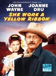 دانلود فیلم سینمایی She Wore a Yellow Ribbon با زیرنویس فارسی فیلم سینمایی مالتی مدیا وسترن