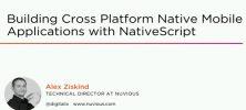Pluralsight Building Cross Platform Native Mobile Applications with NativeScript