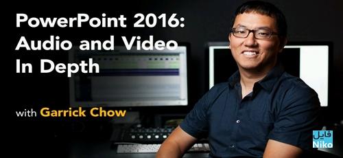 Lynda PowerPoint 2016: Audio and Video In Depth