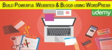 Udemy Build Powerful Websites & Blogs using WordPress No Coding