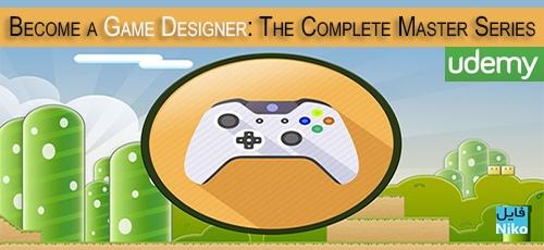 دانلود Udemy Become a Game Designer: The Complete Master Series فیلم آموزشی بازی سازی حرفه ای با Unity