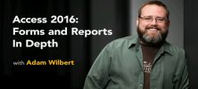Lynda Access 2016: Forms and Reports in Depth