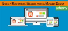 Udemy Build a Responsive Website with a Modern Flat Design