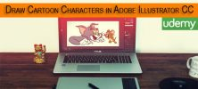 Udemy Drawing Course: Cartoon Characters in Adobe Illustrator CC