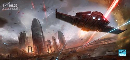 دانلود Sky Force Reloaded v1.83 بازی خارق العاده نیروی آسمان 2016 اندروید + مود + دیتا