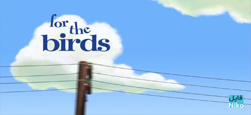 انیمیشن کوتاه For the Birds