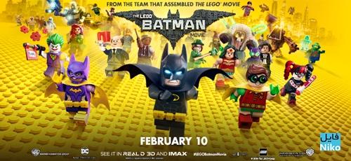 دانلود انیمیشن The LEGO Batman Movie 2017 با زیرنویس فارسی