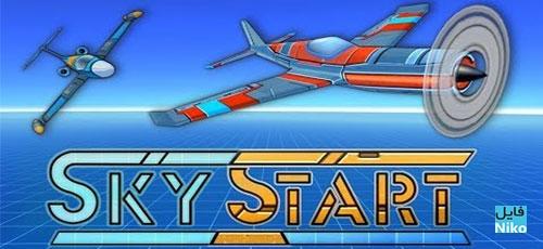 """دانلود Sky Start Racing 1.24.7   بازی مسابقات هوایی """"خلبانان آسمان"""" اندرویدهمراه با دیتا"""