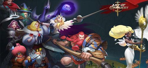 """دانلود Art of Conquest v1.15.6 b20171101   بازی استراتژی فوق العاده """"هنرِ فتح"""" اندروید همراه با دیتا"""